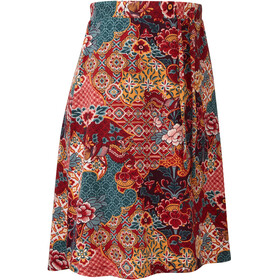 Sherpa Padma Skirt Women red/colourful